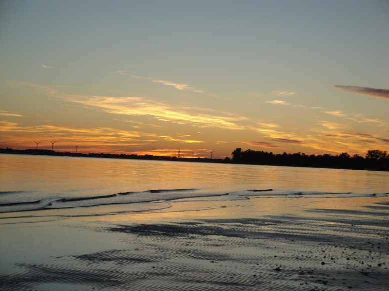 Enjoy the sunset on Long Beach after a long day of  relaxation and fun!
